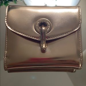 Kate Spade Fillmore Street Gold French Wallet